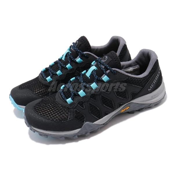 Merrell 戶外鞋 Siren Aerosport 黑 灰 藍 健走鞋 Vibram 女鞋 【ACS】 ML033148