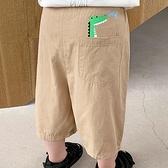 男童七分褲休閒中褲子短褲夏裝嬰兒童裝寶寶小童潮【淘夢屋】