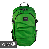 【風雅小舖】【美國Y.U.M.C. Greenwich格林系列Active Backpack 15.6吋筆電後背包 綠色】