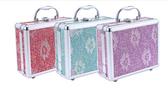 新款美髮必備工具箱化妝箱專業手提箱多層化妝箱多色平紋