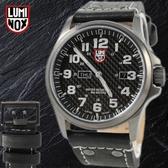【萬年鐘錶】LUMINOX 雷明時 戰場系列 碳纖紋路腕錶 槍管灰x黑 48mm LM-A1921
