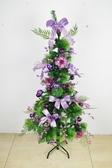 聖誕樹150cm裝飾聖誕樹(紫),聖誕佈置/聖誕節/聖誕裝飾/桌上型迷你聖誕樹【X454172】節慶王
