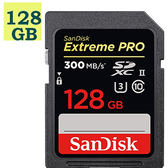 【免運】SanDisk 128GB 128G SDXC Extreme Pro【300MB/s】ultra II SD SDXC 4K V30 U3 SDSDXPK-128G 高速相機記憶卡