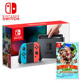 【NS 任天堂】Switch 紅藍主機+大金剛:熱帶急凍《日文版》