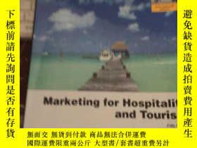 二手書博民逛書店Marketing罕見for Hospitality and T