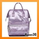 緞面背包雙肩包後背包手提包旅行包大容量包包時尚潮流-藍/咖/黑/紫【AAA3925】預購