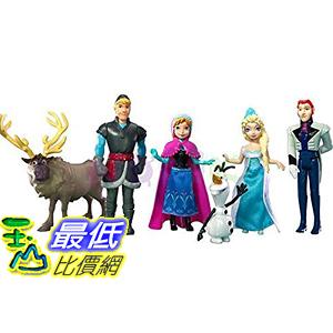 [美國直購] Disney Y9980 Frozen Complete Story Playset 迪士尼 玩具組 艾莎 安娜 雪寶