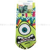 【KP】襪子 怪獸大學 兒童襪子 迪士尼 12~14 止滑 正版授權 4713902104429