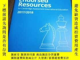 二手書博民逛書店CAMBRIDGE:罕見ENDORSED CAMBRIDGE R