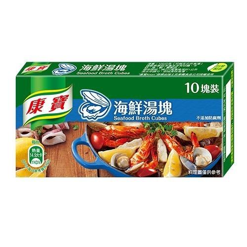 康寶海鮮湯塊100G【愛買】