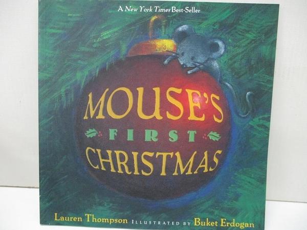 【書寶二手書T7/原文小說_I83】Mouse's First Christmas_Thompson, Lauren/ Erdogan, Buket (ILT)