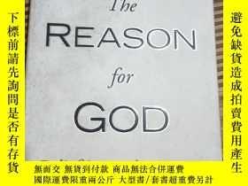 二手書博民逛書店The罕見REASON for GOD Belief in an Age of SkepticisimY256