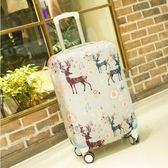 24寸女女男小型車用行李箱保護套寸26寸復古女潮學生行理箱迷你   夢曼森居家
