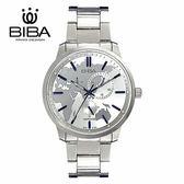 法國 BIBA 碧寶錶 絕色系列 藍寶石玻璃 石英錶 B751S104W 白色 - 45mm