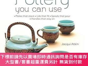 二手書博民逛書店Making罕見Pottery You Can Use: Plates That Stack - Lids Tha