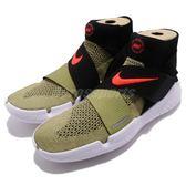 【六折特賣】Nike 慢跑鞋 Free RN Motion FK 2018 綠 黑 交叉綁帶 高統襪套式 男鞋【PUMP306】942840-200