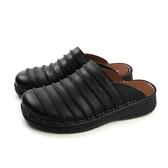 HUMAN PEACE 涼鞋 拖鞋 皮質 舒適 黑色 男鞋 H056 no001