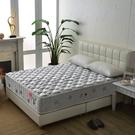 床墊 獨立筒 飯店級麵包型竹碳紗抗菌除臭防潑水蜂巢獨立筒床(厚24cm)-雙人加大6尺$8999