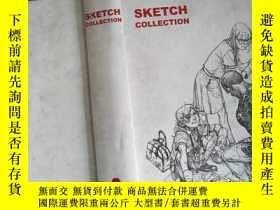 二手書博民逛書店SKETCH罕見COLLECTIONY198833