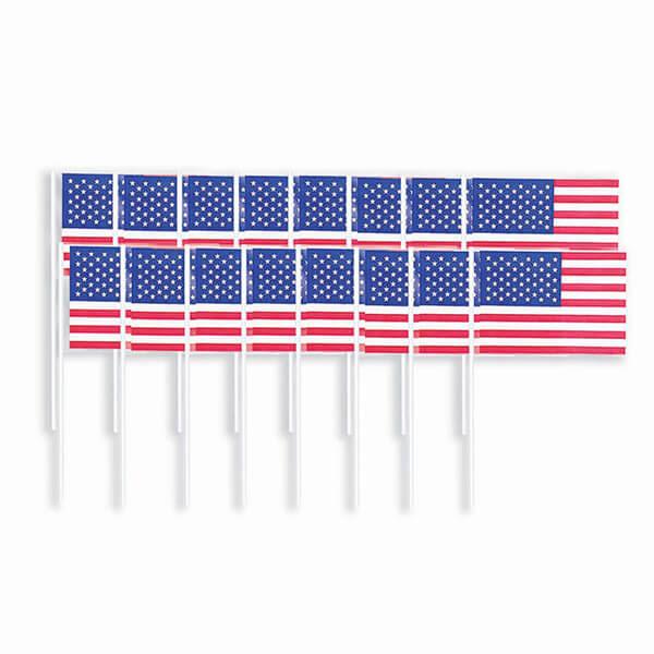 牙籤120入-美國國旗