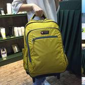 店長推薦雙肩拉桿包背包正韓雙肩行李包袋學生書包可拆短途出差包旅行包