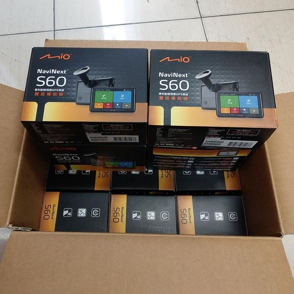 限量促銷【展示福利品】 MIO NaviNext S60 GPS測速 6.2吋 導航機 動態預警 支援胎壓 保固半年