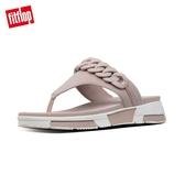 熱銷推薦【FitFlop】HEDA CHAIN TOE-THONGS 時尚運動風夾腳涼鞋(貂褐色)-女