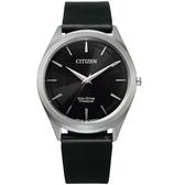 CITIZEN星辰低斂紋飾光動能手錶 BJ6520-15E