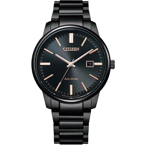 CITIZEN星辰 GENT'S 經典簡約紳士腕錶 BM7527-89E