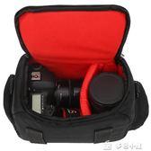 相機包 單反 單肩攝影包700D750D800D 6D200D60D70D80D便攜M6「多色小屋」