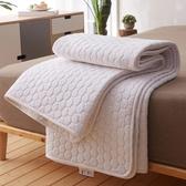 天然乳膠床墊保護墊1cm床褥墊席夢思床護墊夏季軟墊床墊薄款墊子床護墊 潮流衣舍