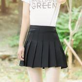【優選】百褶裙a字裙半身裙高腰學生短裙子