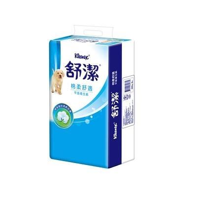 舒潔平版衛生紙268抽(6包*8串)/箱