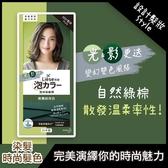 莉婕泡沫染髮劑-橄欖綠棕色