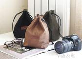 適合佳能100d 200d 70D 760D 80D 5D3 4單反相機收納袋防水攝影包      芊惠衣屋