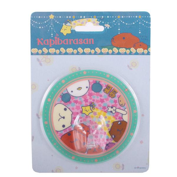 kapibarasan 水豚君我愛生活系列吸盤掛勾。星星