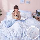 床包 / 雙人加大【小樹之歌】含兩件枕套...