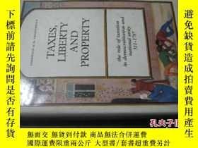 二手書博民逛書店TAXES,罕見LIBERTY AND PROPERTY 直譯:稅收、自由和財產 16開精裝Y6713 TAX