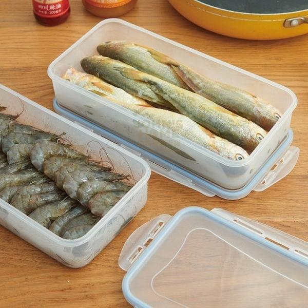 可瀝水海鮮肉類保鮮盒 冰箱冷凍盒 食品分類盒 隨機出貨【AB011】《約翰家庭百貨