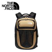 【The North Face 31L 15吋電腦背包 土黃褐/橘】 NF00CLG4/電腦背包/後背包/電腦包/通勤包