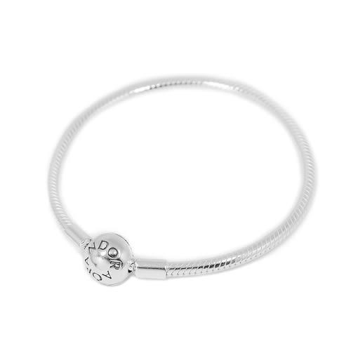 Pandora 潘朵拉 圓珠蛇鍊925純銀手鍊手環