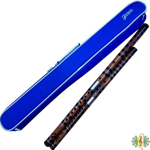 笛子 台製 珍琴 紮線 中國笛 曲笛 梆笛 竹笛 台灣 製造 (贈 四支笛袋 )(兩支一組) [網音樂城]