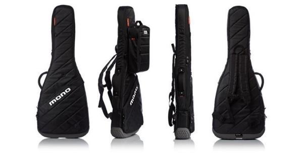 ☆唐尼樂器︵☆原廠 MONO M80 VERTIGO 頂級專業款電吉他厚琴袋(防潑水/防震)黑色款