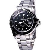 Valentino 范倫鐵諾 新世界單向旋入式計時運動腕錶-黑框黑 EV6602