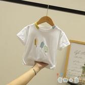 兒童t恤短袖男女童體恤純棉上衣韓版半袖童裝【奇趣小屋】