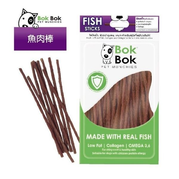 *KING WANG *BOK BOK 《鯊魚全系列》十種口味可選 50g/包 犬用零食