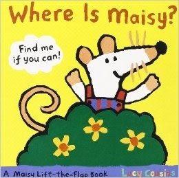 【小鼠波波尋找書】WHERE IS MAISY?/硬頁翻翻書