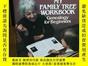 二手書博民逛書店My罕見Family Tree Workbook (Dover