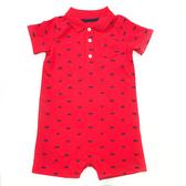 Carter s卡特 POLO杉短袖兔子裝 紅車車   男寶寶連身衣(嬰幼兒/baby/新生兒)