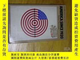 二手書博民逛書店america罕見since 1920Y179933 danie